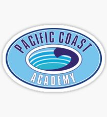 PCA Pacific Coast Akademie Zoey 101 Sticker
