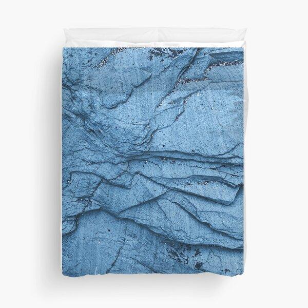 Bluish Rock Duvet Cover