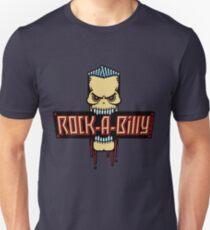 Rock-A-Billy Skull Unisex T-Shirt