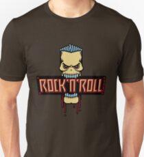 Rock 'n' Roll Skull Unisex T-Shirt