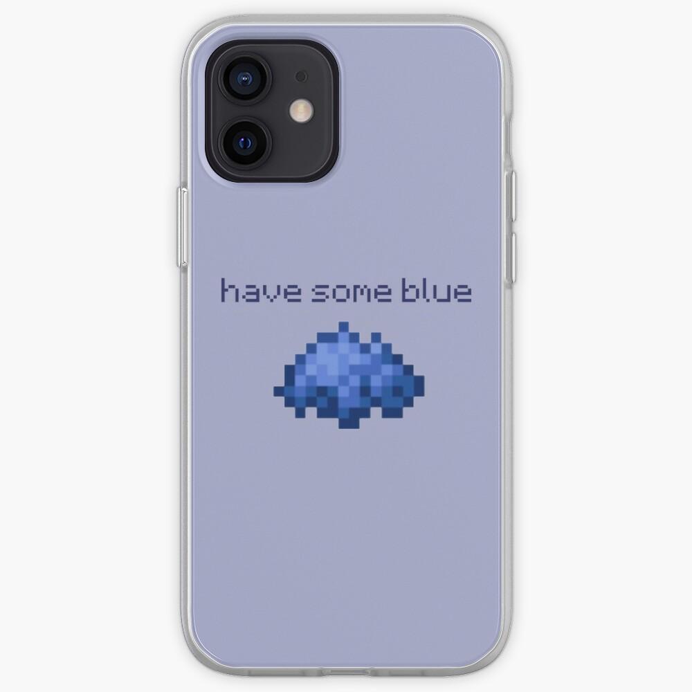 Coque iPhone «avoir du bleu»