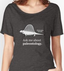 Ask Me About Paleontology Women's Relaxed Fit T-Shirt
