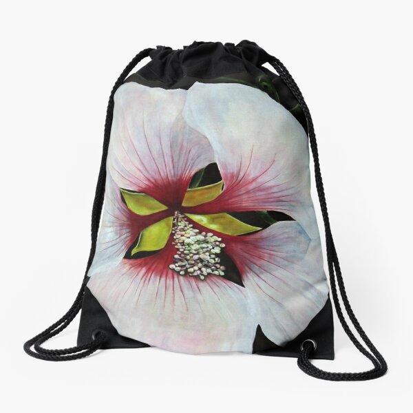 Rose of Sharon Drawstring Bag