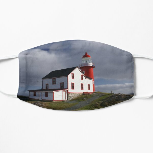 Ferryland Head Lighthouse Flat Mask