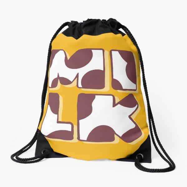 Milk Bar Life Drawstring Bag
