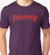 Thrasher Magazine Red Logo Design T-Shirt