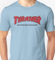 Thrasher Magazine Red Logo Design Unisex T-Shirt