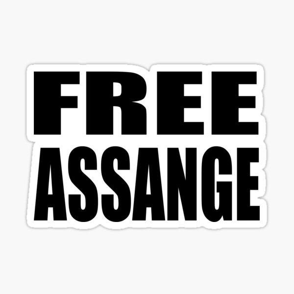 FREE Assange Sticker