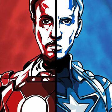 Civil War by EgomanticLizard