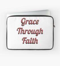 Grace Through Faith Laptop Sleeve