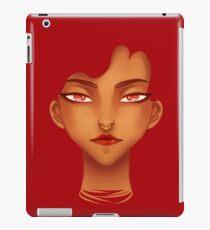 Red Eyes iPad Case/Skin
