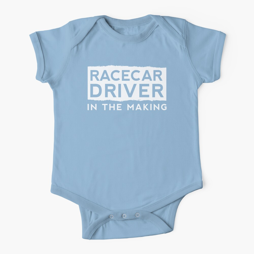 Race Car Driver in the Making  Baby One-Piece