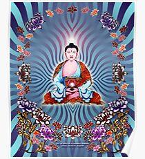 Buda azul Poster