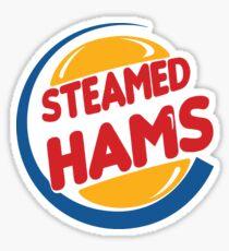 Steamed Hams – Principal Skinner, Superintendant Chalmers Sticker
