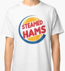 Steamed Hams – Principal Skinner, Superintendant Chalmers Classic T-Shirt