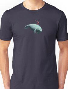 Manatee Rider Unisex T-Shirt
