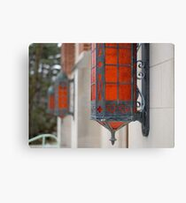 Theater Lamps Canvas Print