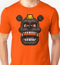 Adventure Nightmare - FNAF World - Pixel Art Unisex T-Shirt