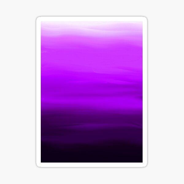 Shades of Purple Sticker