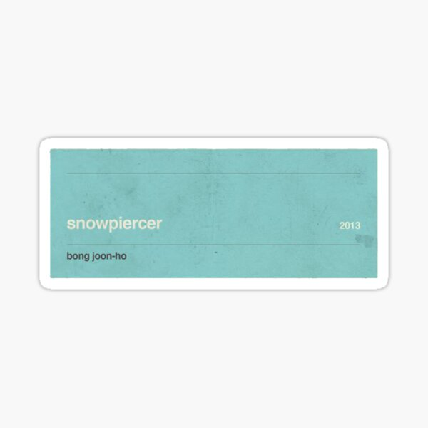 Snowpiercer Sticker