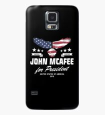 John McAfee for president 2016  Case/Skin for Samsung Galaxy