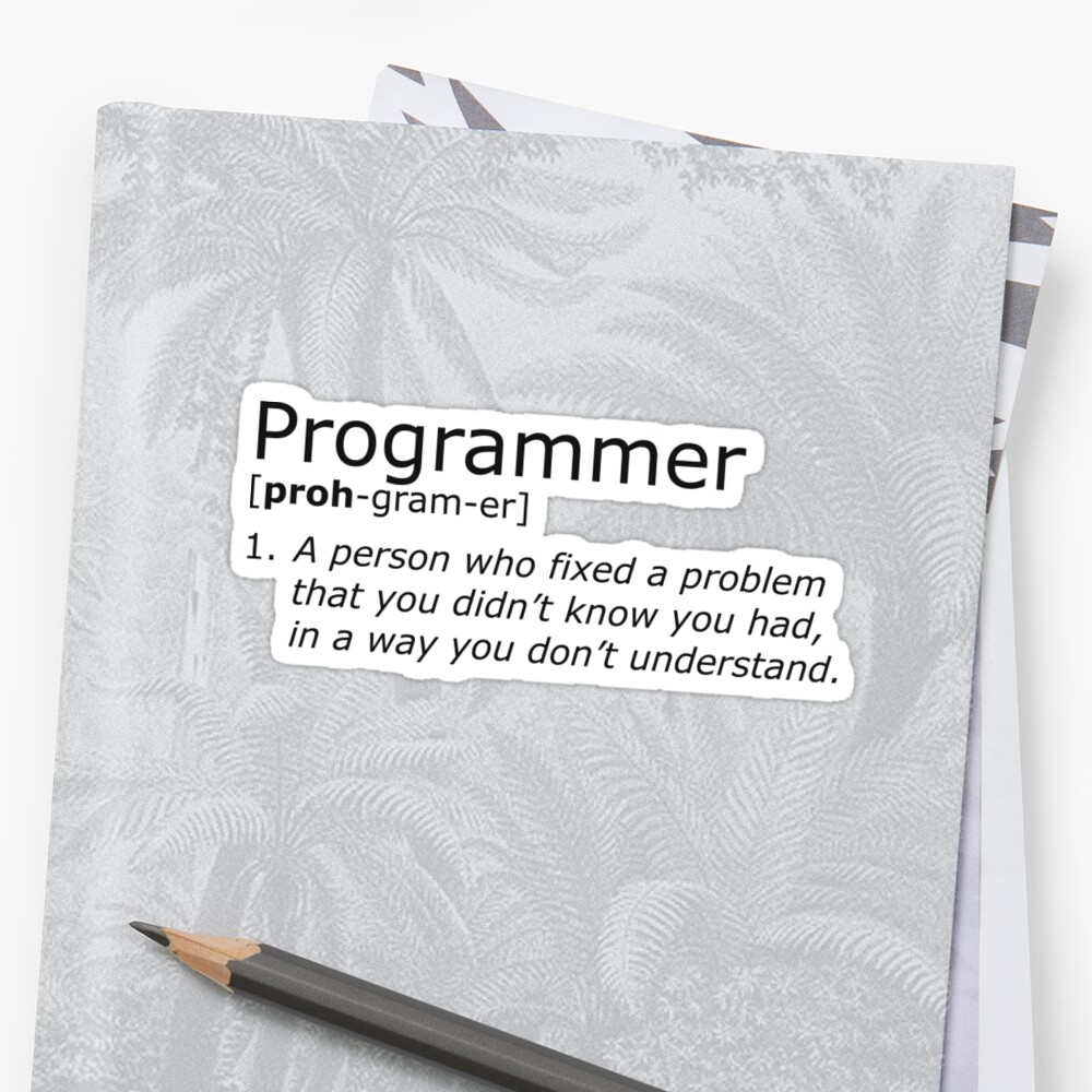 Programmer definition black by giovybus