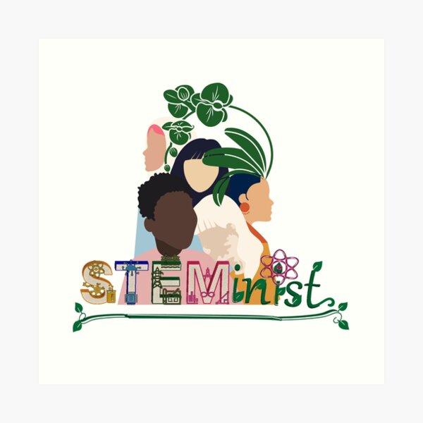 Steminist Art Print