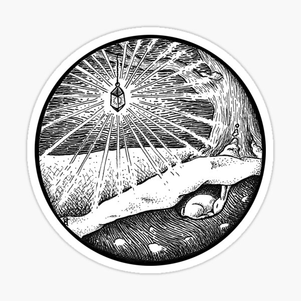 January Portal Sticker