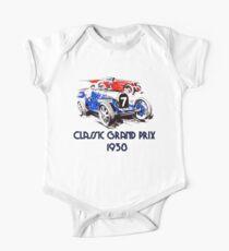 Retro vintage classic Grand Prix 1938 One Piece - Short Sleeve