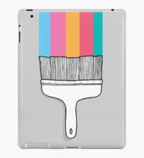 Colorful cartoon fantasy paintbrush  iPad Case/Skin