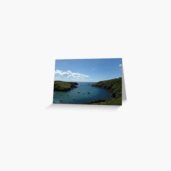 Solva in Pembrokeshire Greeting Card
