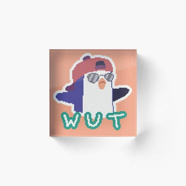 Bernard Wut Acrylic Block
