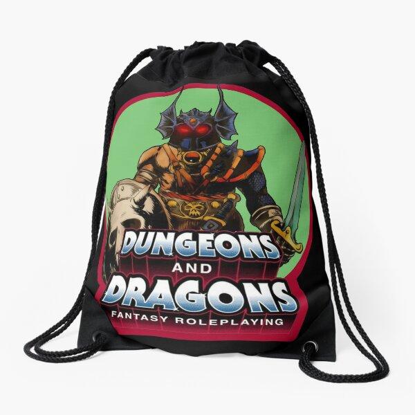 80's Cartoon Classic Dungeons & Dragons Warduke Retro Drawstring Bag