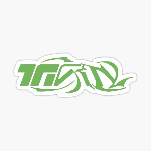 Logotipo de la Trinidad (Laylow) Pegatina