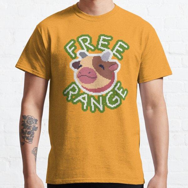 Free Range Mini Cow Classic T-Shirt
