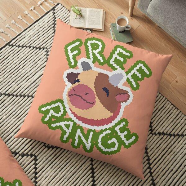 Free Range Mini Cow Floor Pillow