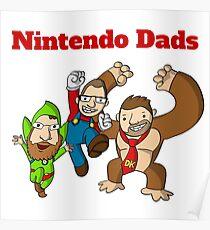 Nintendo Dads Poster