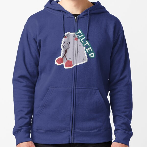 Stay Tilted Zipped Hoodie