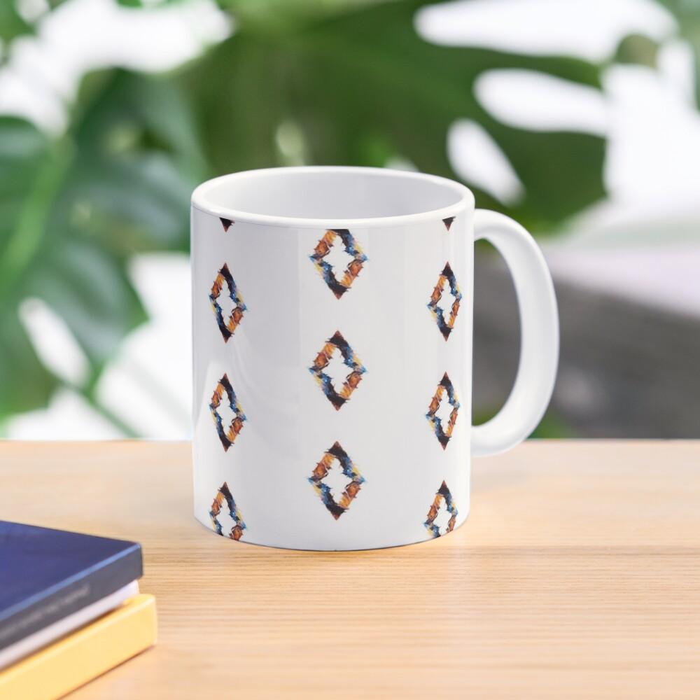 Abstract diamond Mug