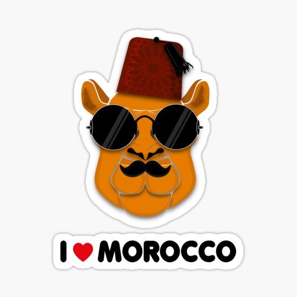 J'aime le maroc T-Shirt love camel Sticker