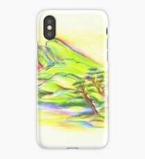 Rainbow Landscape iPhone Case