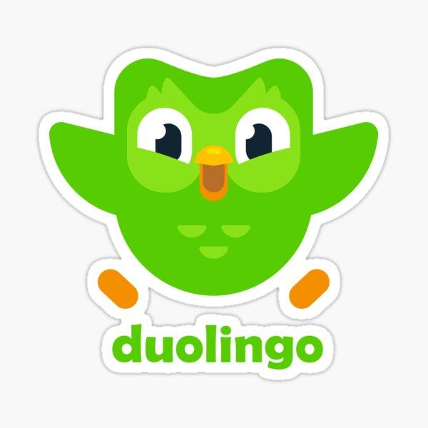 Duolingo Sticker