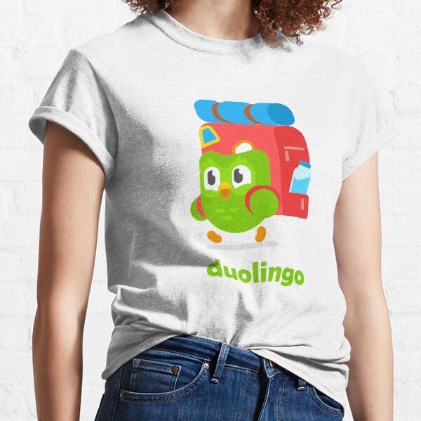 Duolingo As A Traveler Classic T-Shirt