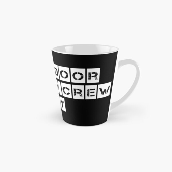 Stage Door (For Black clothing) Tall Mug