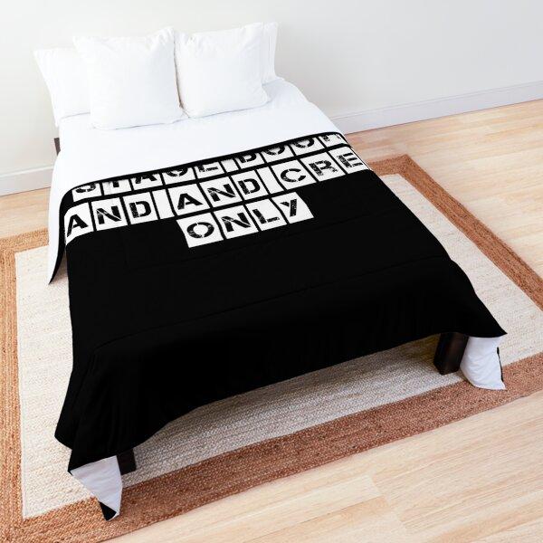 Stage Door (For Black clothing) Comforter