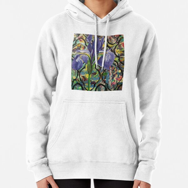 IRIS with pattern Pullover Hoodie