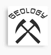 Geology Canvas Print