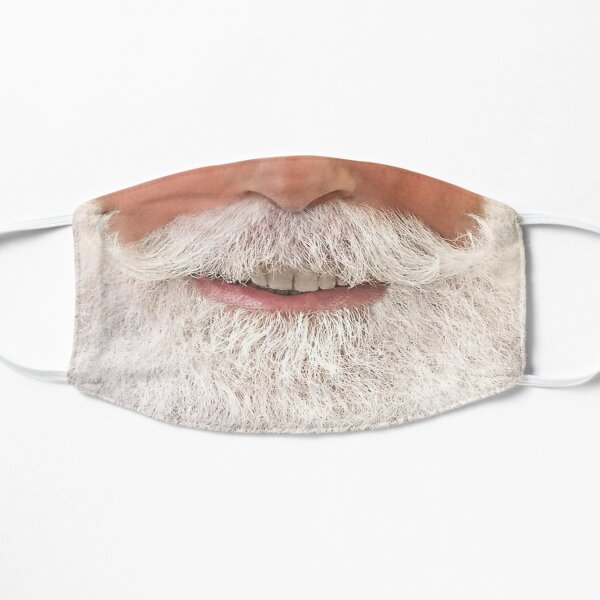 A white Beard Mask