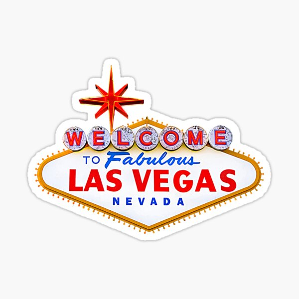 Welcome to Fabulous Las Vegas Shirt Sticker