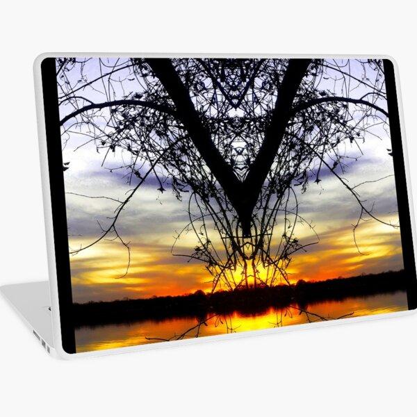 Sunset in Texas Laptop Skin